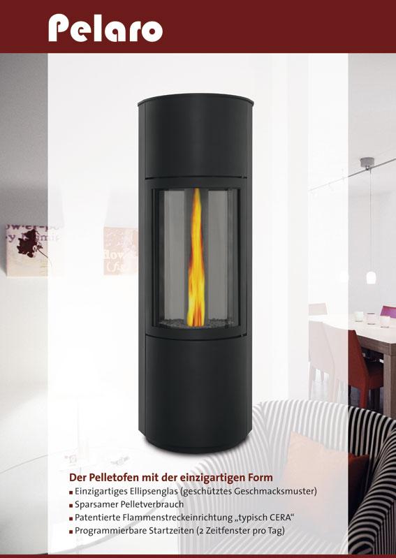 pelletofen pelaro 4 kw 8 kw solmser ofenstudio. Black Bedroom Furniture Sets. Home Design Ideas